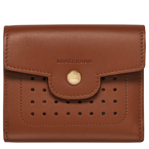 Compact wallet, Cognac - View 1 of  2 -