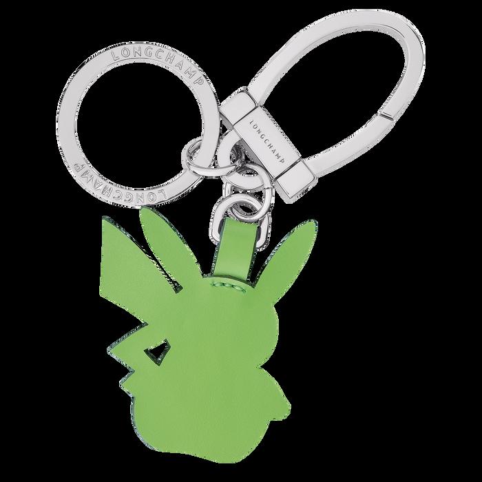 Longchamp x Pokémon Green Pikachu key ring, Green