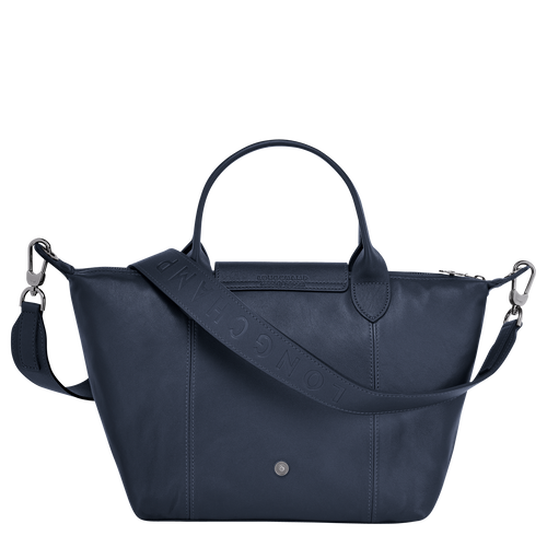 Top handle bag S, Navy - View 3 of  4 -