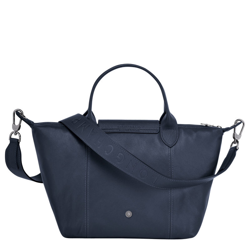 Top handle bag S, Navy - View 3 of  4 - zoom in