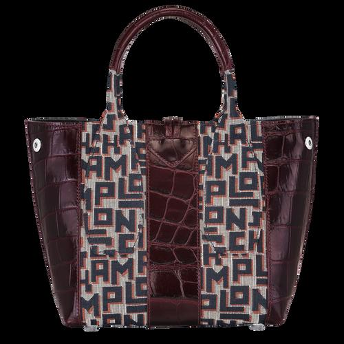 Top handle bag, Mahogany - View 4 of 4 -