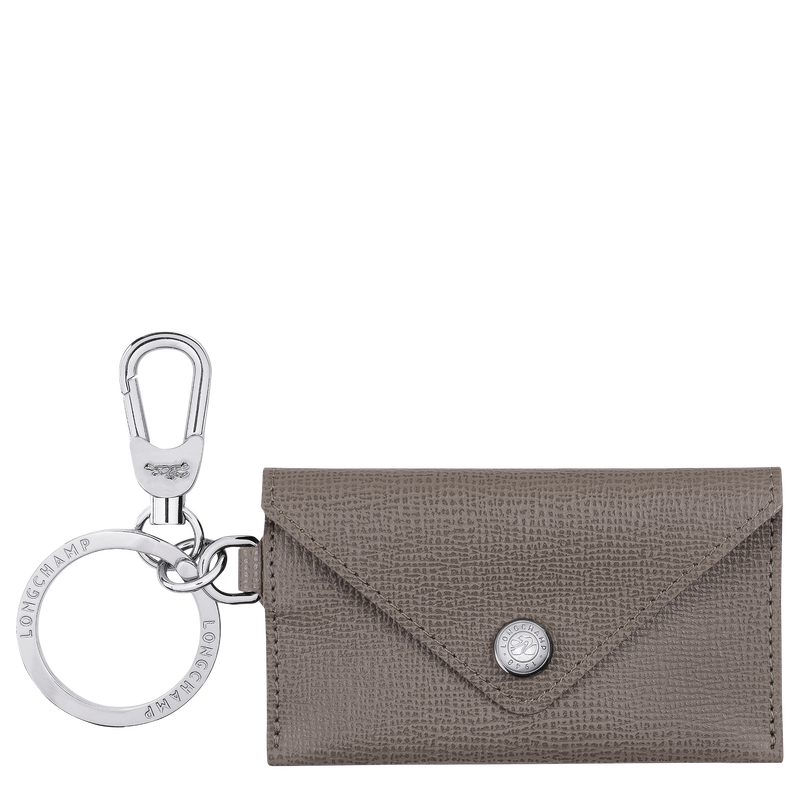 Le Pliage Néo Envelope key ring, Taupe