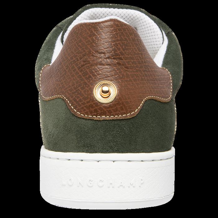 Sneakers, Longchamp Green - View 3 of  5 - zoom in