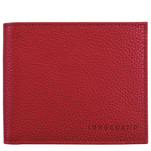 Le Foulonné Wallet, Red