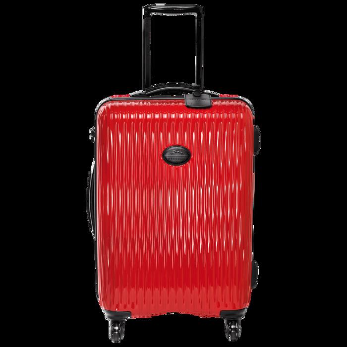 Koffer, Rood - Weergave 1 van  3 - Meer inzoomen.