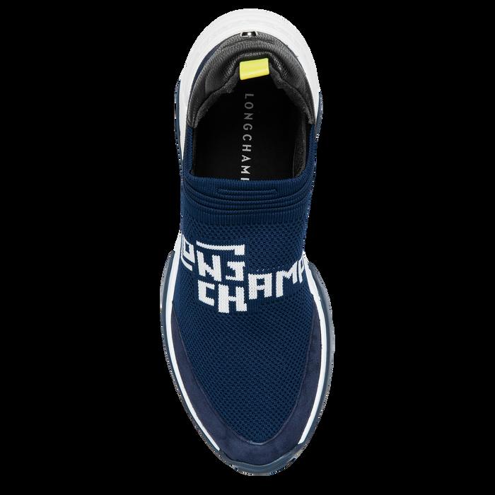Sneakers, Noir/Marine - Vue 4 de 5 - agrandir le zoom