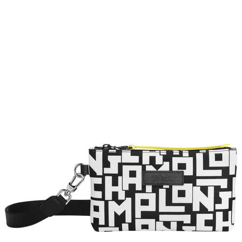 Pouch, Black/White - View 1 of  3 -
