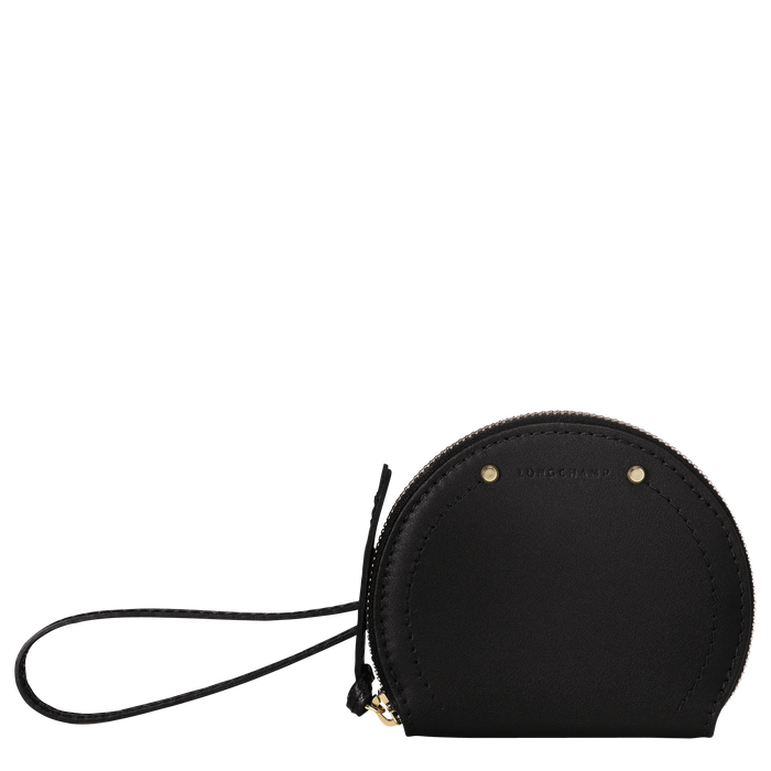 Coin purse, Black/Ebony - View 1 of  3 - zoom in