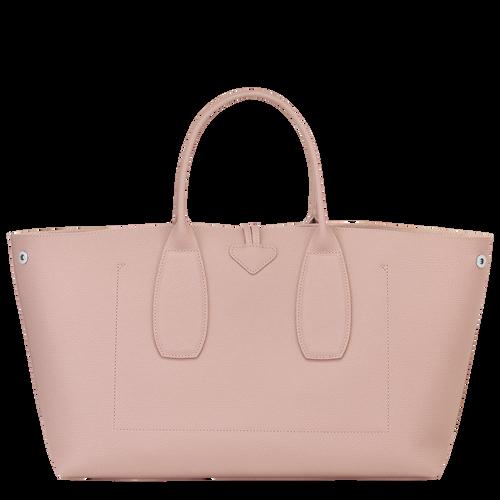 Roseau Top handle bag L, Powder