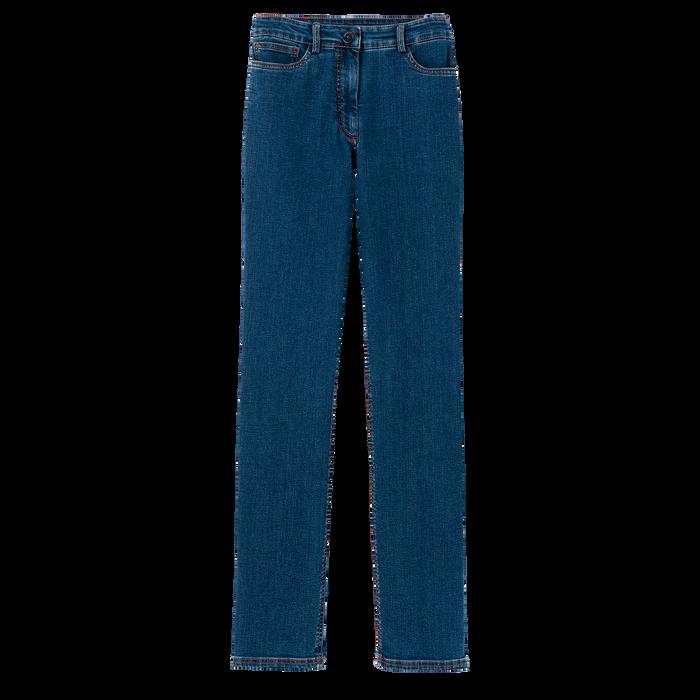Colección otoño-invierno 2021 Pantalones, Azul Baltico