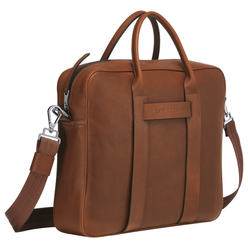 Briefcase M, Cognac - View 2 of 3 -