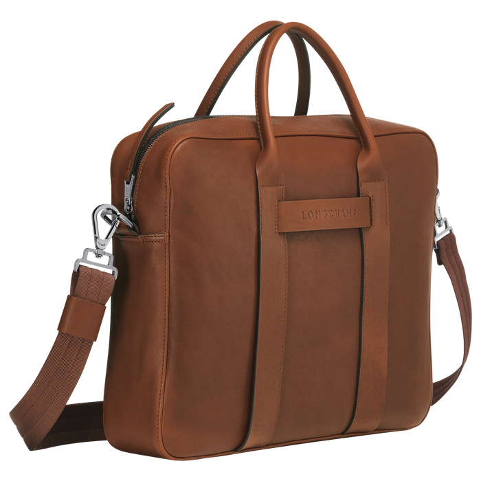 Briefcase M, Cognac - View 2 of 3 - zoom in