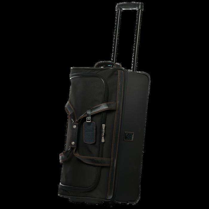 Wheeled duffle bag, Black/Ebony - View 2 of  3 - zoom in