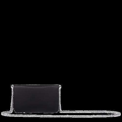 鍊帶錢包, 黑色, hi-res - 3 的視圖 3