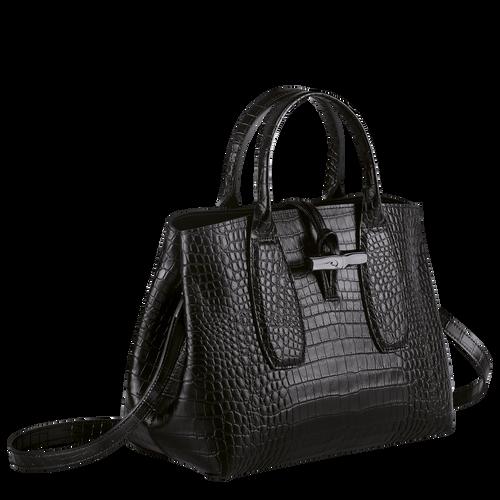 Top handle bag M, Black/Ebony - View 3 of 4 -