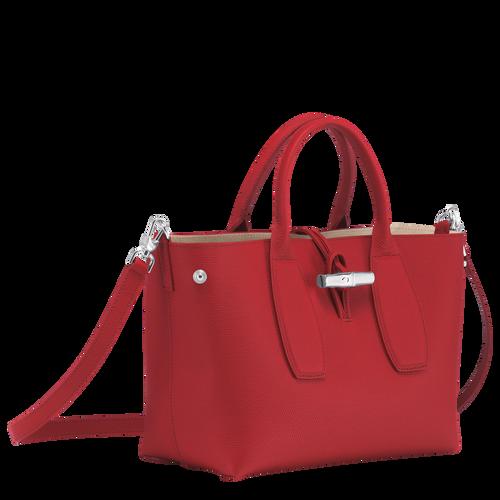 Top handle bag M, Red, hi-res - View 3 of 5