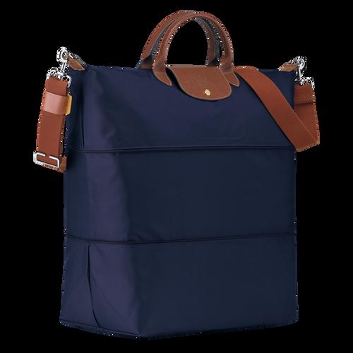 Le Pliage 旅行袋可擴展, 海軍藍色