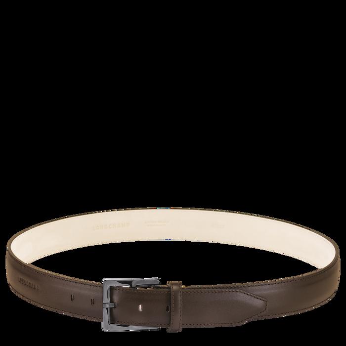 Végétal Men's belt, Mocha