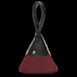 Top-handle bag S, E53 Burgundy/Black, hi-res