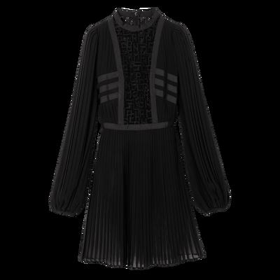 Kleid, 001 Schwarz, hi-res