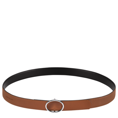 Ladies' belt, Caramel/Black - View 1 of 1 -
