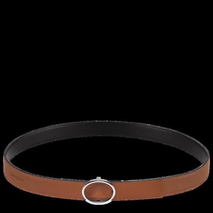 Ladies' belt, Caramel/Black - View 1 of 1 - zoom in