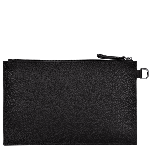 View 3 of Essential Pouch, Black, hi-res
