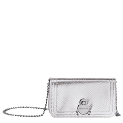 Wallet on chain, 023 Silver, hi-res