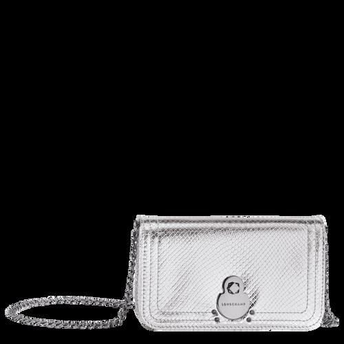 Geldbörse mit Kette, 023 Silber, hi-res