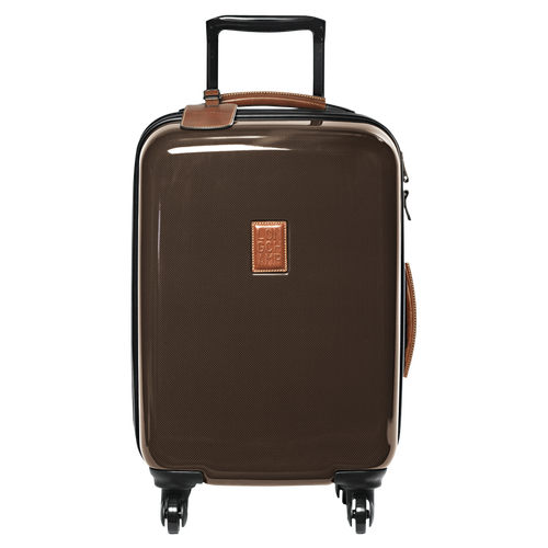 Cabin suitcase, Brown, hi-res - View 1 of 3