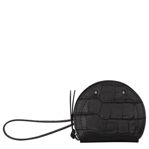 Coin purse, Black, hi-res - View 1 of 3