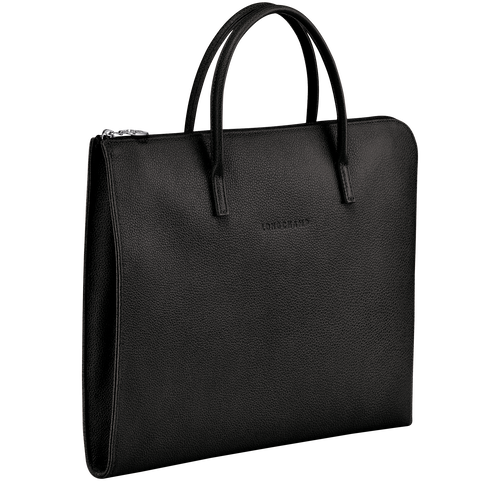 Briefcase S, Black, hi-res - View 2 of 3