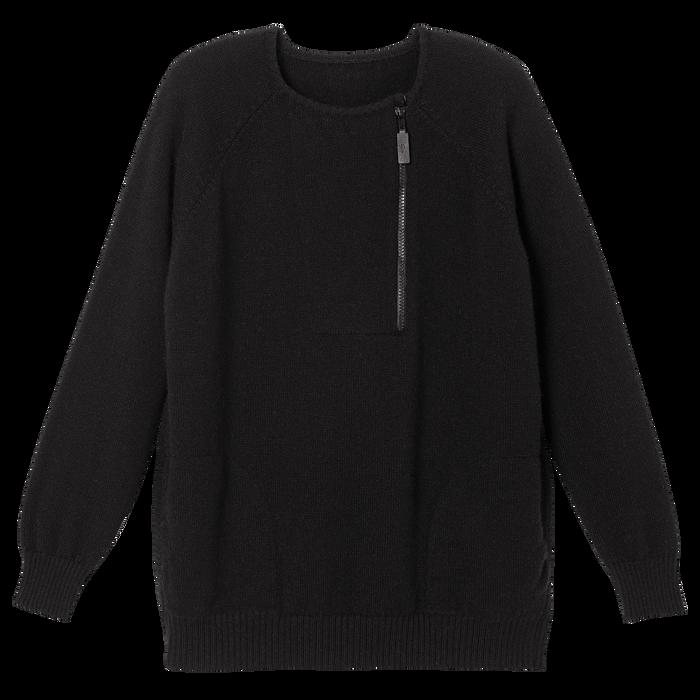 Pullover, Black/Ebony - View 2 of  2 - zoom in