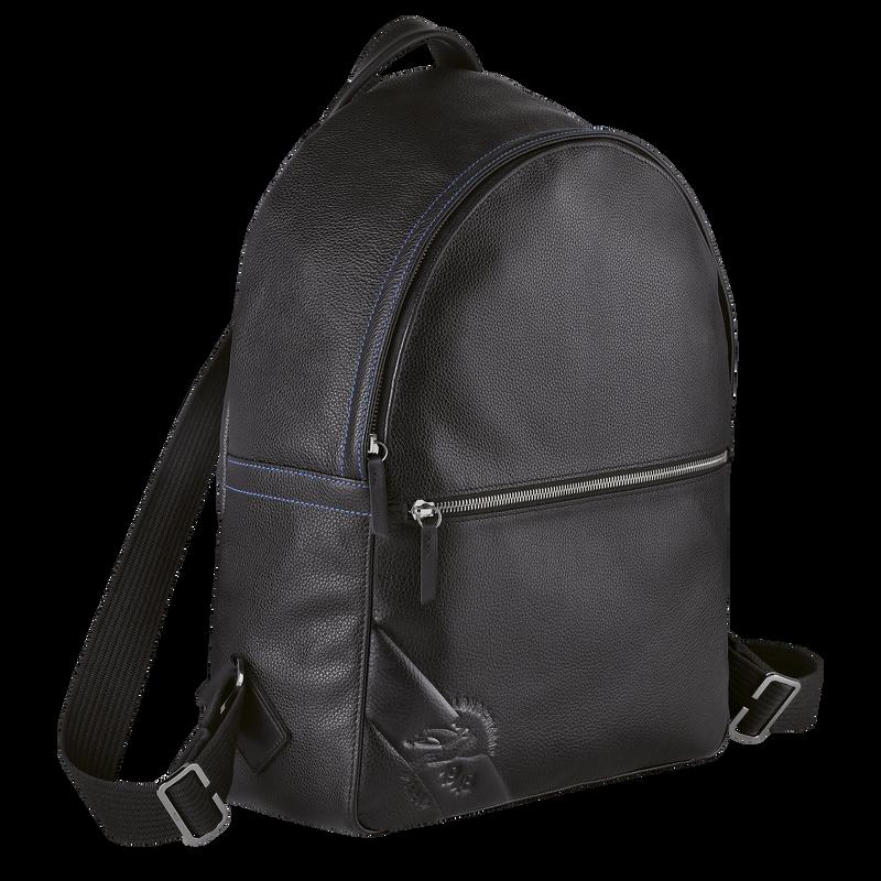 Le Foulonné Backpack, Black