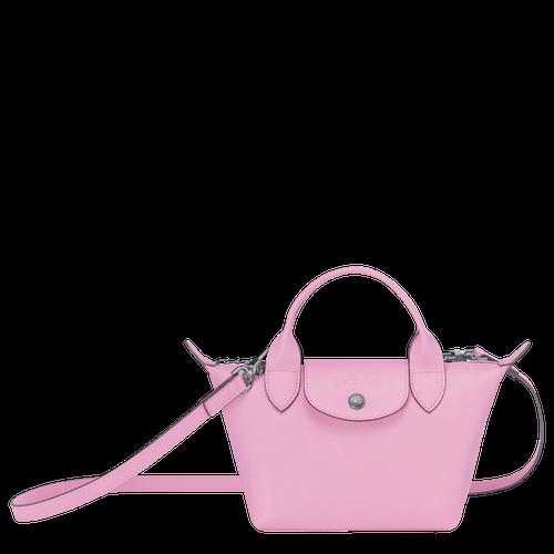 Mini top-handle bag, Pink, hi-res - View 1 of 3