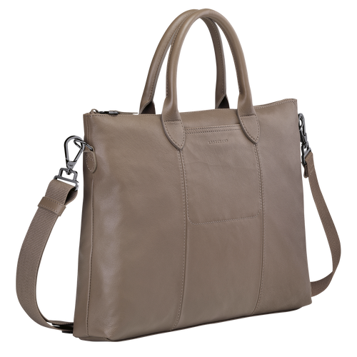 Top handle bag, Taupe - View 2 of 3 -