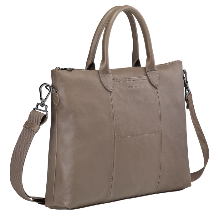 Top handle bag, Taupe - View 2 of 3 - zoom in