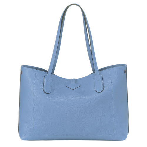 Essential Tote bag M, Blue, hi-res - View 3 of 3