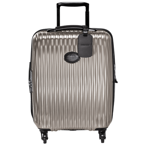 Small wheeled suitcase, Grey, hi-res - View 1 of 3