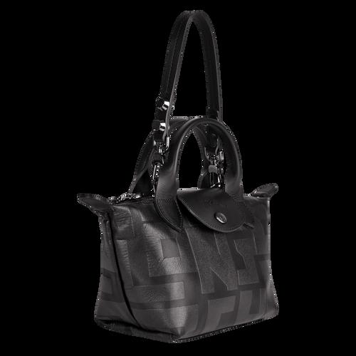 Vue 2 de Mini sac porté main, 001 Noir, hi-res