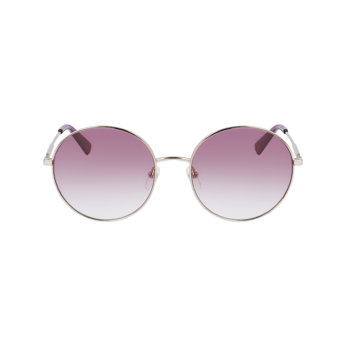 Sunglasses, Gold/Violet - View 1 of  2 - zoom in
