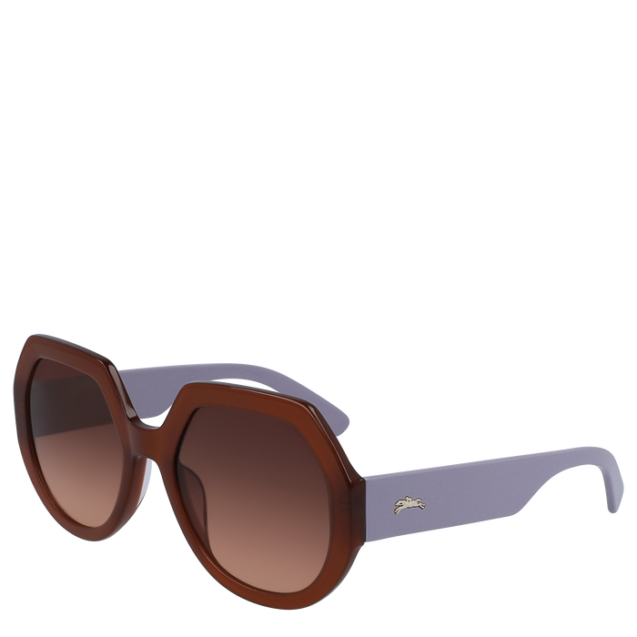 Sunglasses, Brown - View 3 of 3.0 - zoom in