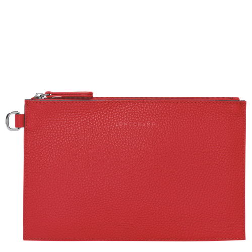 View 1 of Essential Pouch, Red, hi-res