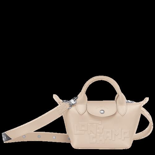 Mini top-handle bag, Chalk, hi-res - View 1 of 3