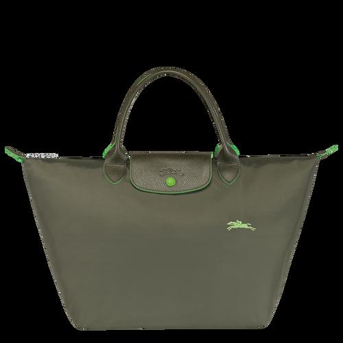 Sac porté main M, Vert Longchamp - Vue 1 de 5 -