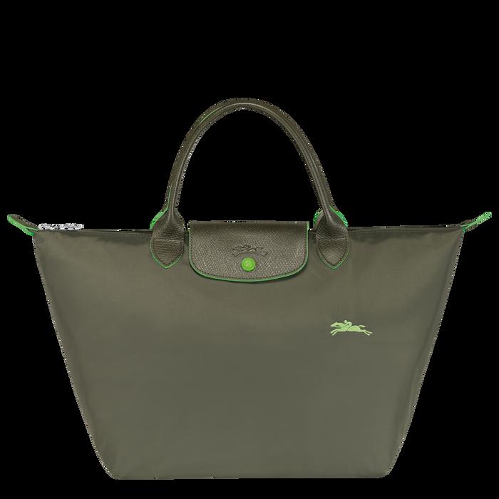 Sac porté main M, Vert Longchamp - Vue 1 de 5 - agrandir le zoom
