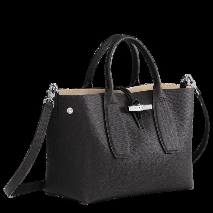 Handtasche M, Schwarz - Ansicht 3 von 5 - Zoom vergrößern