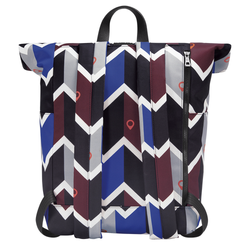 Backpack, Mahogany/Blue - View 3 of  4 -