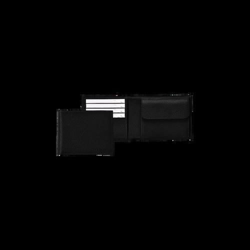View 1 of Small wallet, 047 Black, hi-res