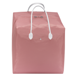 Top-handle bag L, E65 Pink/White, hi-res